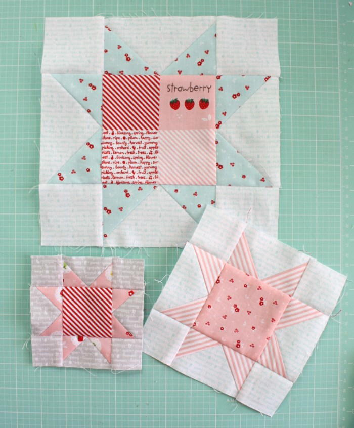 Sweet Sawtooth Star Tutorial Favequilts Com
