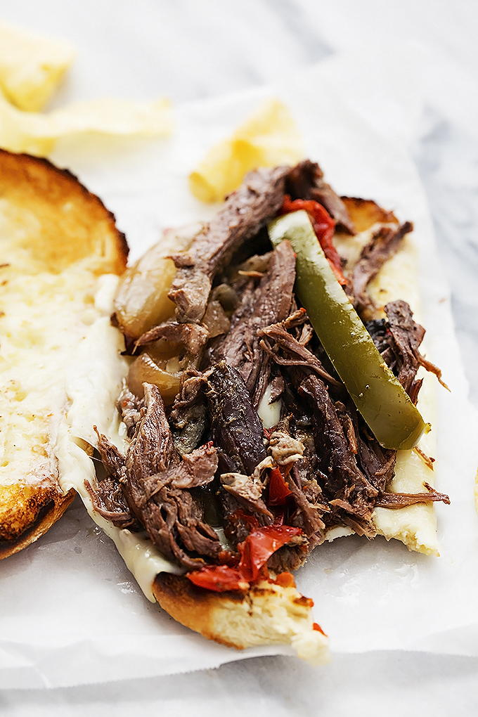 Easy Slow Cooker Philly Cheesesteaks ...