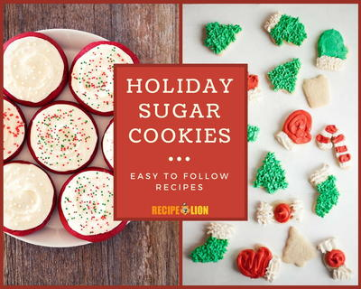 13 Holiday Sugar Cookie Recipes