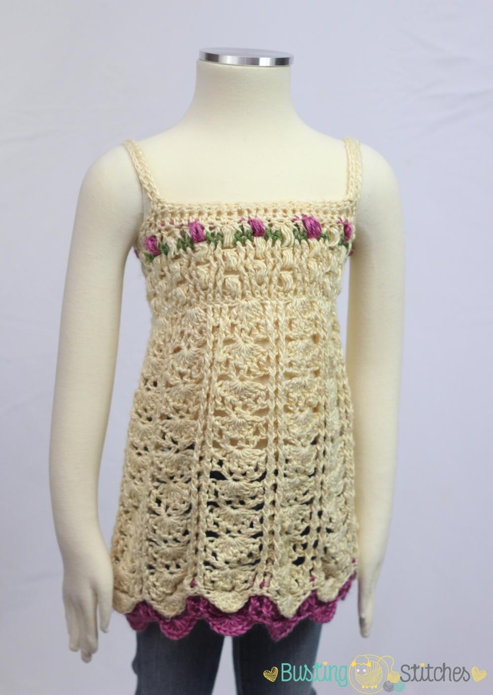 Flower Crochet Tank Pattern Allfreecrochet Com