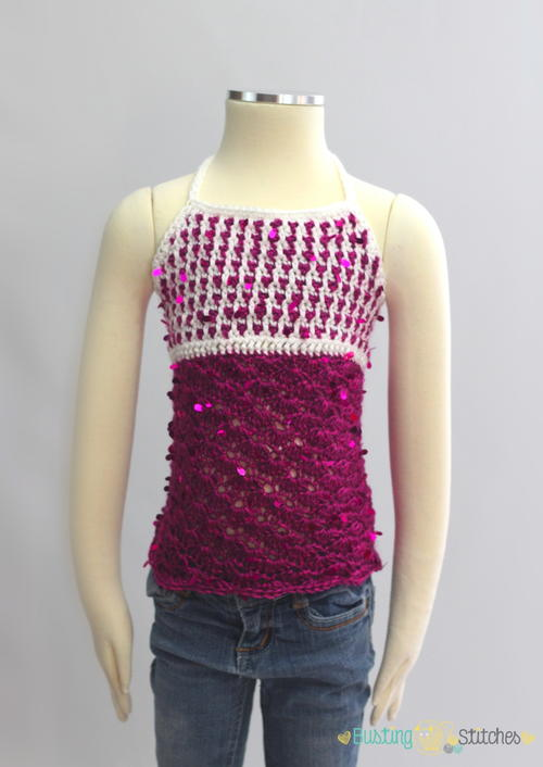 Sequin Crochet Tank Pattern