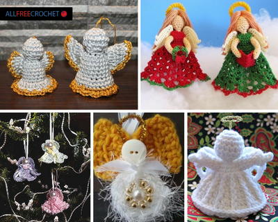 30 Free Crochet Angel Patterns + Crochet Angel Wings