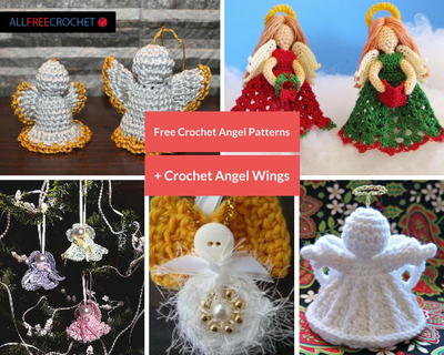 Free Crochet Angel Patterns  Crochet Angel Wings