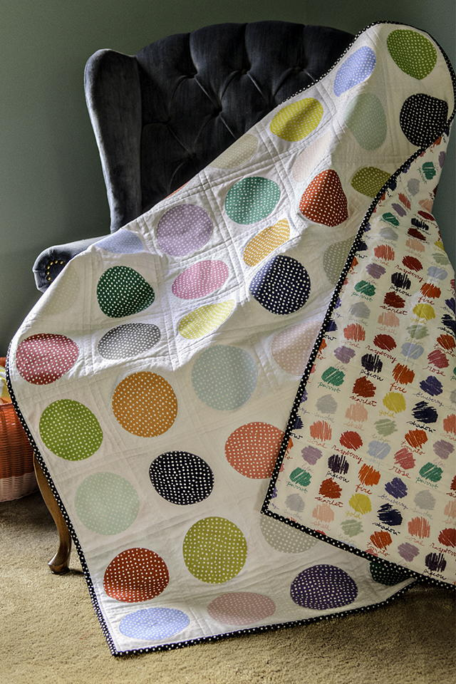 Colorful Confetti Quilt Tutorial Favequilts Com