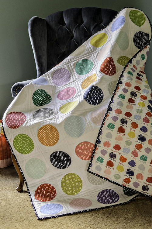 Colorful Confetti Quilt Tutorial