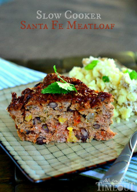 Slow Cooker Santa Fe Meatloaf