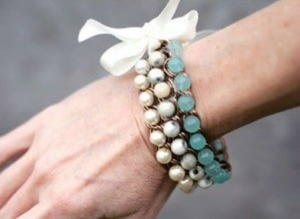 Blissful Pearls Bridal Bracelet