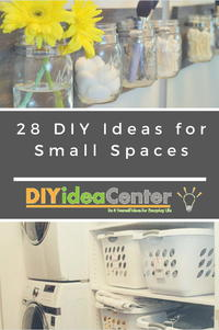 Small Space Projects: 28 DIY Ideas for Small Spaces