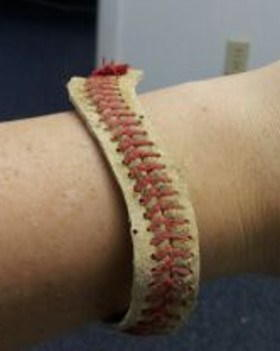 Sporty Baseball DIY Bracelet