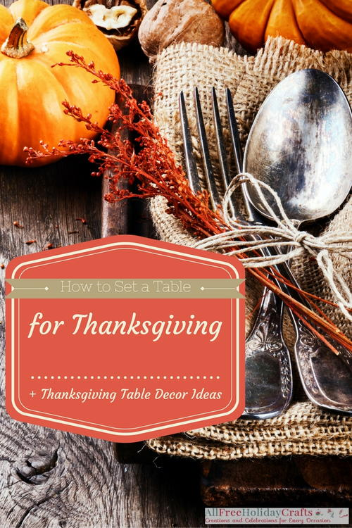 how to set a table for thanksgiving + thanksgiving table decor