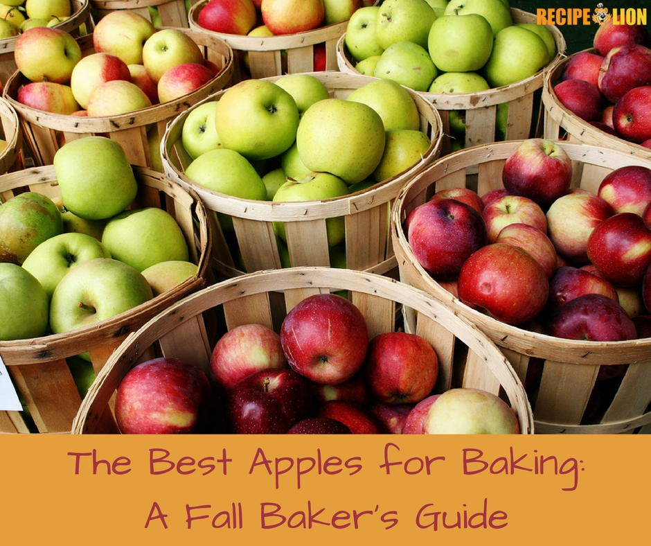 The Best Apples For Baking: A Fall Baker's Guide