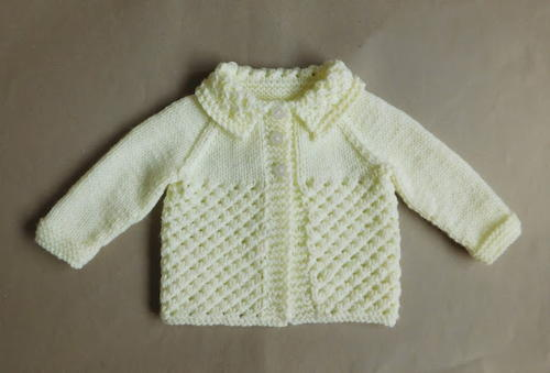 77527cf1e Morning Star Knitted Baby Sweater
