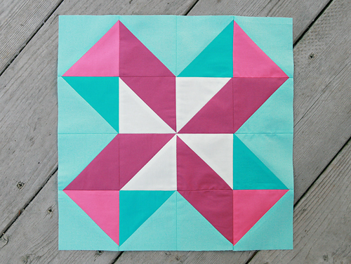 Lucky Pieces Quilt Block