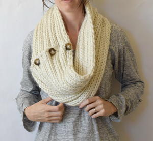 Two Ways Trendy Knit Cowl