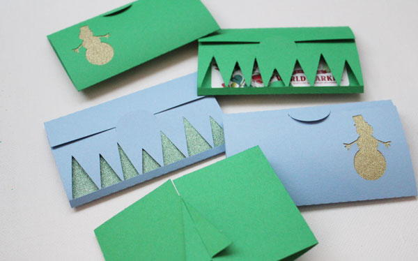 Chilly Winter DIY Gift Card Holder