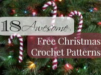18 Awesome Free Christmas Crochet Patterns