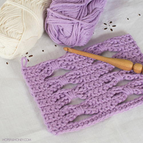 How To Crochet the Bow Stitch