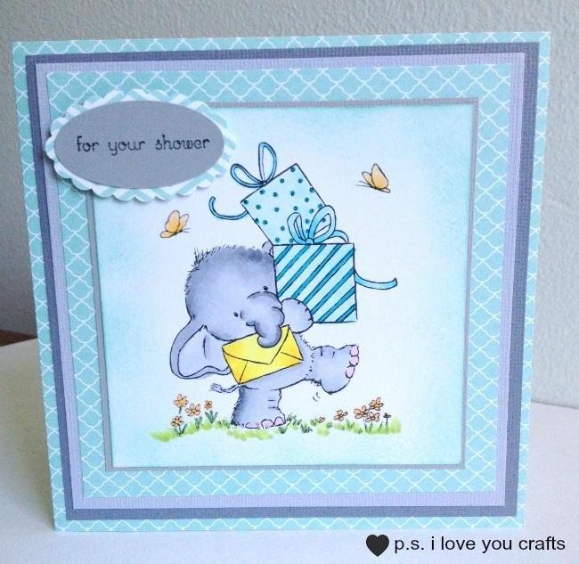 Baby Shower Arts And Crafts Part - 46: AllFreePaperCrafts.com