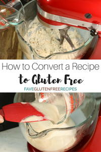 How to Convert a Recipe to Gluten Free