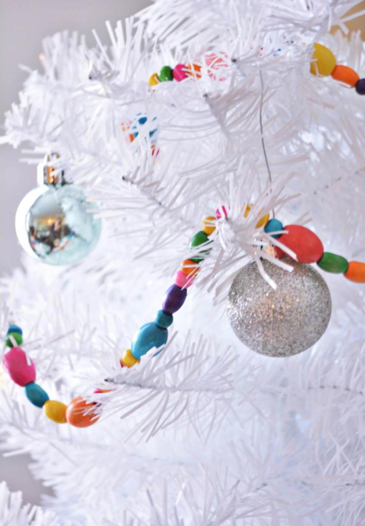 Easy Beaded Diy Christmas Garland Favecrafts Com