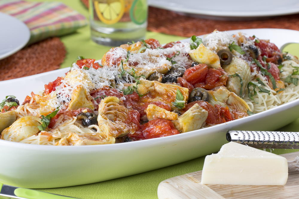 Italian Spring Fling Pasta | MrFood.com