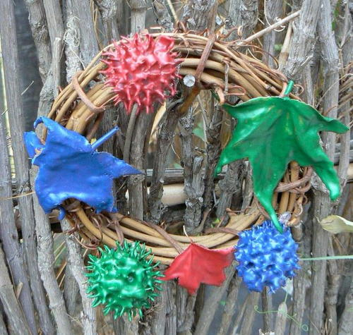 Kid's Merry and Bright Nature Wreath
