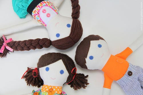 Amazing Fabric DIY Dolls