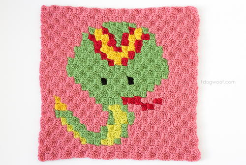 Zoodiacs Snake Afghan Square