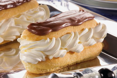 Creme Filled Eclairs