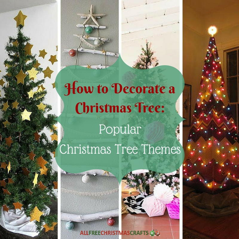 How To Decorate A Christmas Tree 4 Popular Christmas Tree Themes  - Christmas Tree Themes Pictures