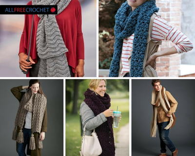 The Best Super Scarf Crochet Patterns