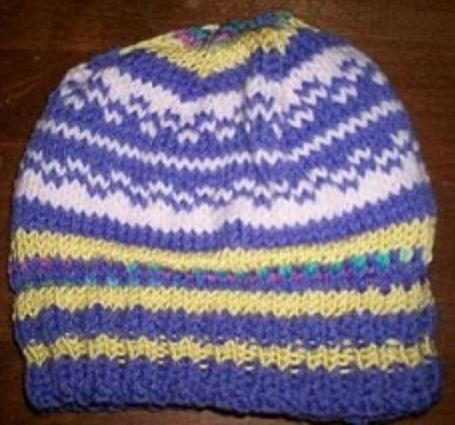 Simple Colorwork Beanie