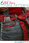 6 Old Jeans Purse Patterns