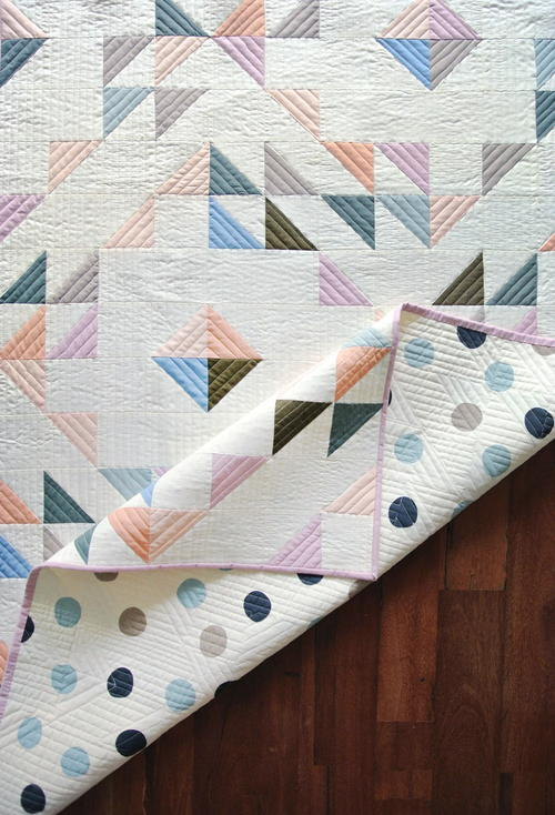Indian Summer Baby Quilt
