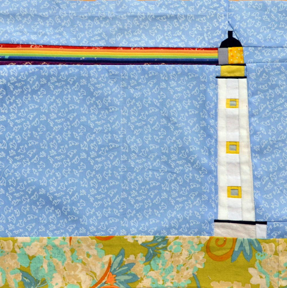 Lighthouse Paper Piecing Pattern FaveQuilts.com