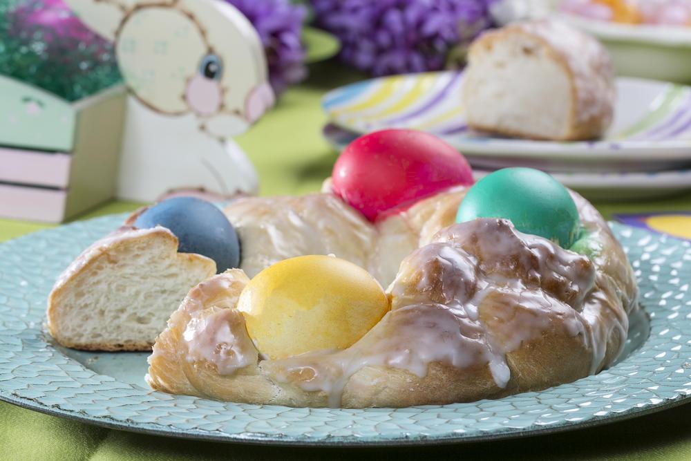 Easter Egg Bread | MrFood.com