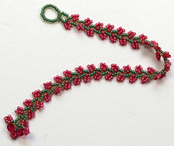 Beaded Nepal Chain Stitch Bracelet