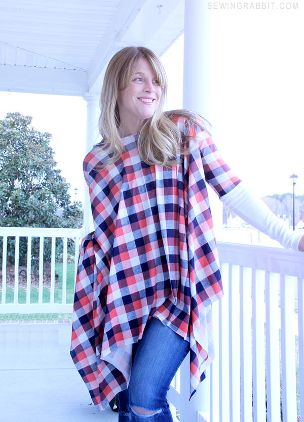 Michael Kors-Inspired Poncho Pattern