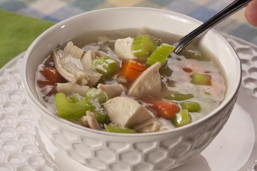 Homemade Chicken Soup Mrfood Com