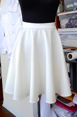 Simply Audrey Skirt Pattern