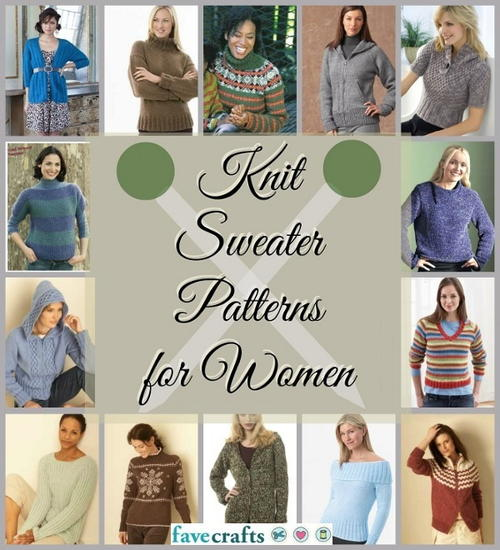 Free Knitted Sweater Patterns for Women
