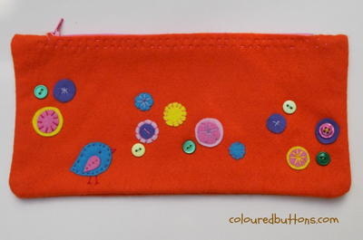 Easy Zipper Pencil Pouch for Kids