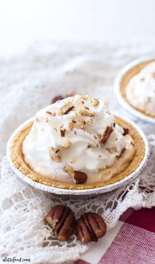 Pumpkin Pecan Cream Pie