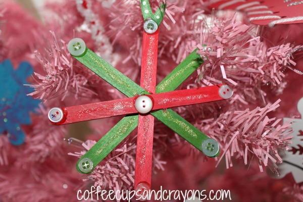 Snowflake Homemade Ornaments Allfreekidscrafts Com