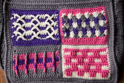Groovy Berry Crochet Messenger Bag Crochet-Along - Pt 1 Introduction