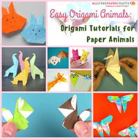 Easy Origami Animals: 18 Origami Tutorials for Paper Animals