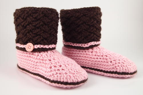Celtic Dream Crochet Slippers