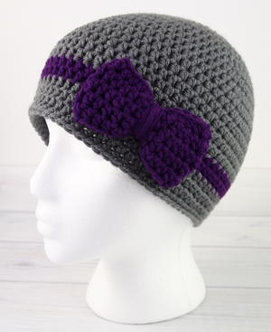 Wrapped with Love Crochet Hat