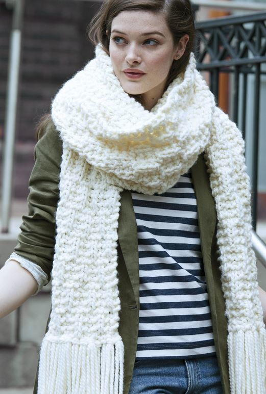 Cloudwalker Easy Knit Scarf
