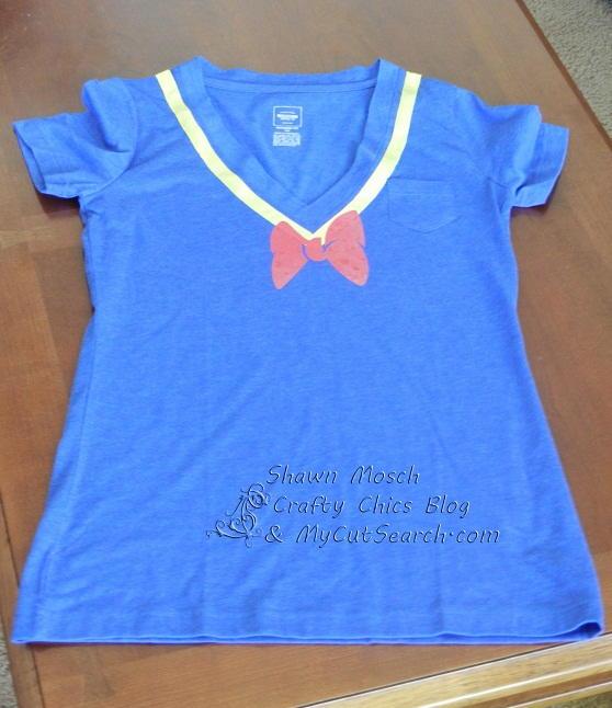 Donald Duck Inspired T Shirt Allfreesewing Com
